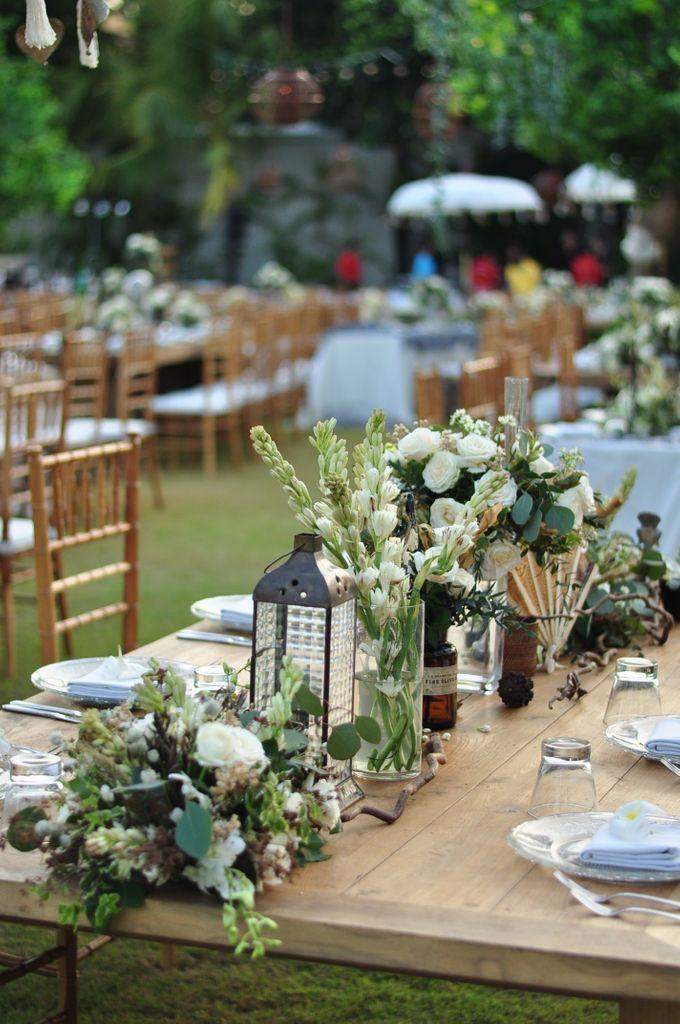 Wedding Dinner of Akta & Jinesh by The Royal Santrian Luxury Beach Villa - 034