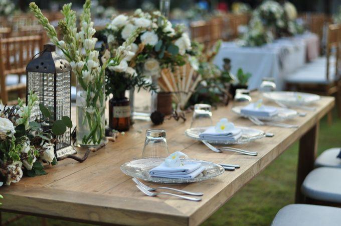 Wedding Dinner of Akta & Jinesh by The Royal Santrian Luxury Beach Villa - 036