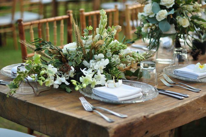 Wedding Dinner of Akta & Jinesh by The Royal Santrian Luxury Beach Villa - 038