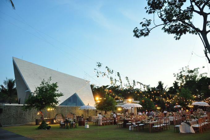 Wedding Dinner of Akta & Jinesh by The Royal Santrian Luxury Beach Villa - 045