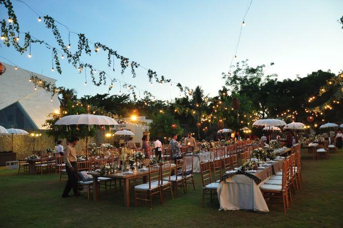 Wedding Dinner of Akta & Jinesh by The Royal Santrian Luxury Beach Villa - 046