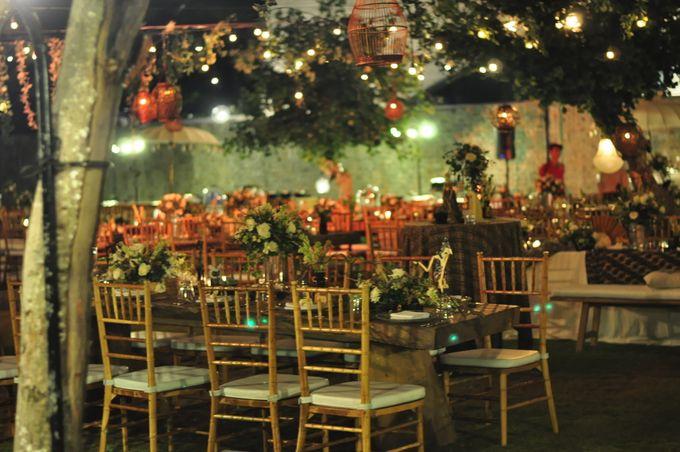 Wedding Dinner of Akta & Jinesh by The Royal Santrian Luxury Beach Villa - 047