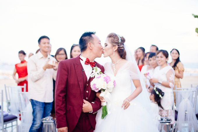 Jimmy & Tiara | Bali Wedding Destination by Maycy Makeupartis - 014
