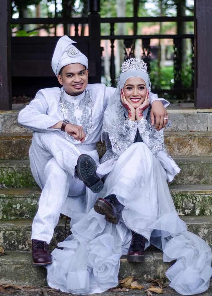 WEDDING OF AISHAH & NAZIRUL by lens and moment - 004