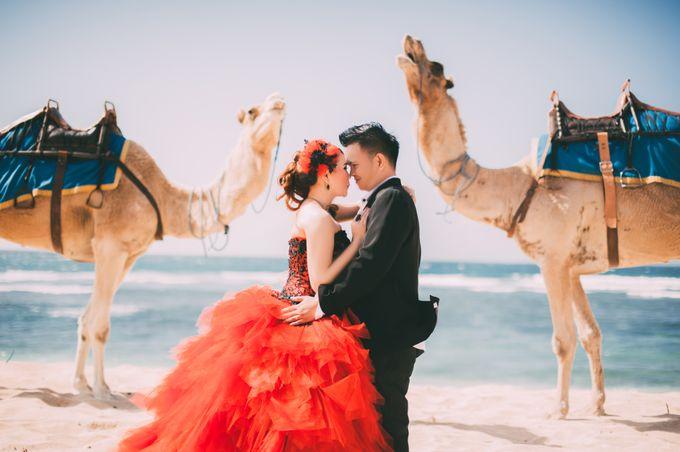 Love in Bali Camel by Mariyasa - 002