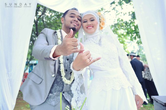Wedding day Niken & Dian by yusway photography - 049