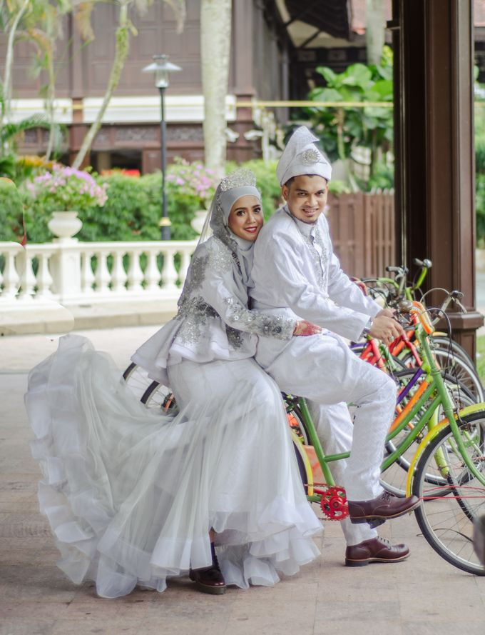 WEDDING OF AISHAH & NAZIRUL by lens and moment - 006