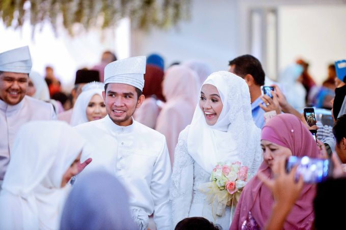 Farisya & Ikram - Wedding Reception  by Raihan Talib Photography - 019