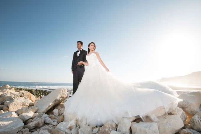 Fence & Indri by Michelle Ann Bridal House - 001