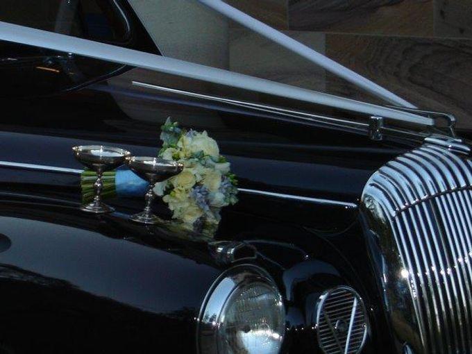 Classic Daimler major Magestic Wedding Car by Tic Tac Tours & Premier Limousines - 005