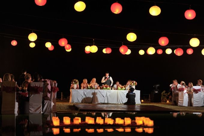 Wedding Dinner by Bali Exotic Wedding Organizer - 008