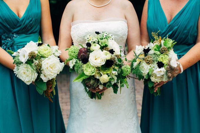 Bouquets & Boutonnieres by Mobtown Florals - 016