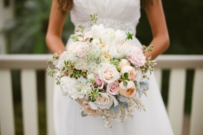 Bridal Party by Affair with George  Florals & Event Styling - 032