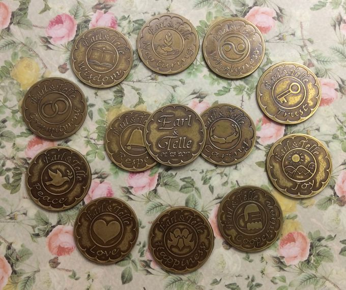 Wedding Coins by Jigs and Clays - 004