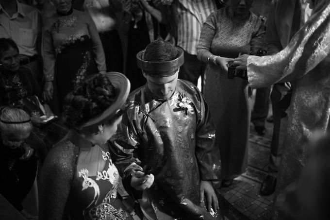 Diem & James, Vietnamese Traditional Wedding, Nha Trang, Vietnam by Tim Gerard Barker Wedding Photography & Film - 011