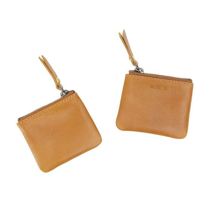 coin purse by GAMMARA LEATHER SOUVENIR - 001