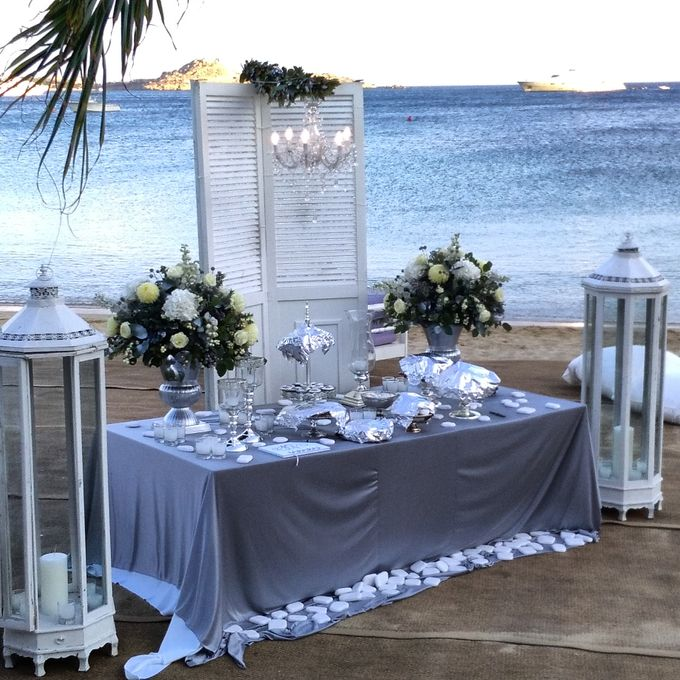 Beach Wedding at Mykonos by Dreams In Style - 001
