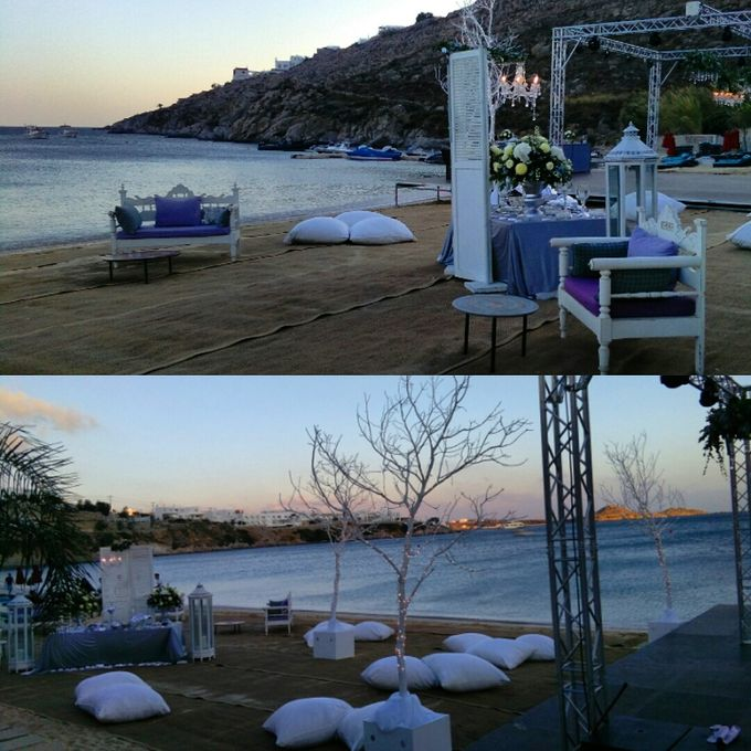 Beach Wedding at Mykonos by Dreams In Style - 004