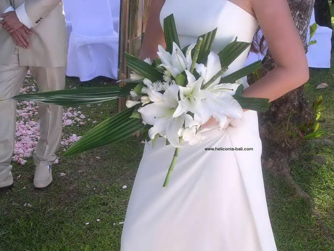 WEDDING BOUQUET by HELICONIA  Bali - 013