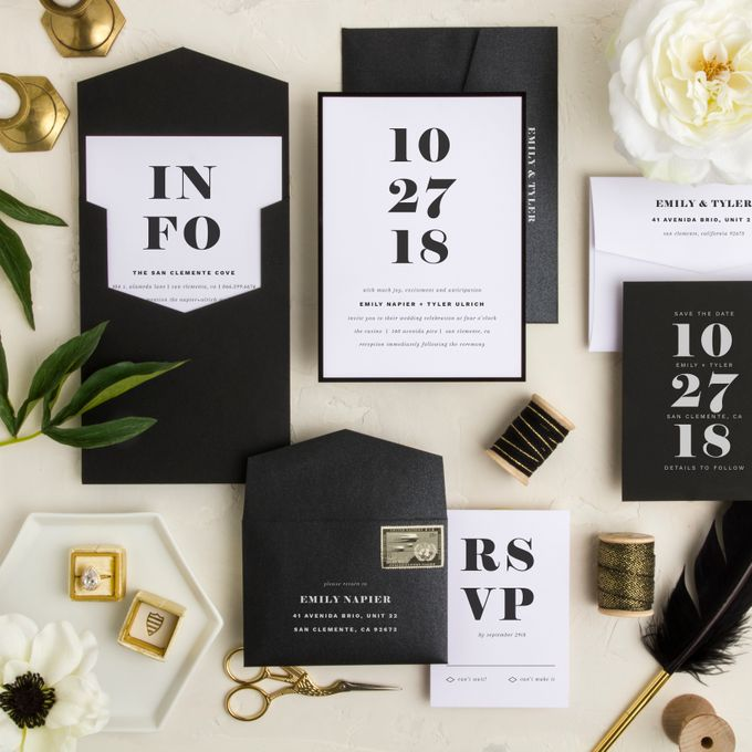 New Wedding Designs by Paper Pressed  - 005