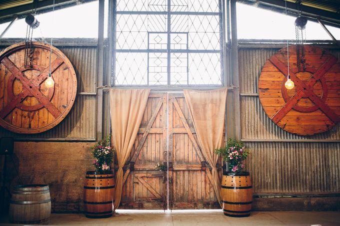 Yarra Valley Weddings by Zonzo Estate - 012