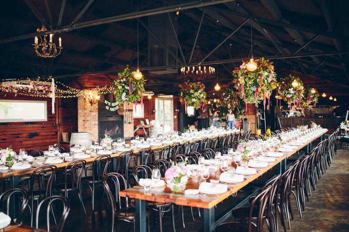 Yarra Valley Weddings by Zonzo Estate - 013