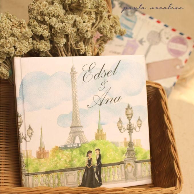 Edsel & Anna Album by Paula Rosaline Illustration - 002