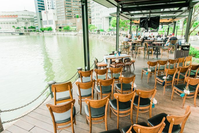 Whimsical Garden at Harrys Boat Quay by Harry's  - 003