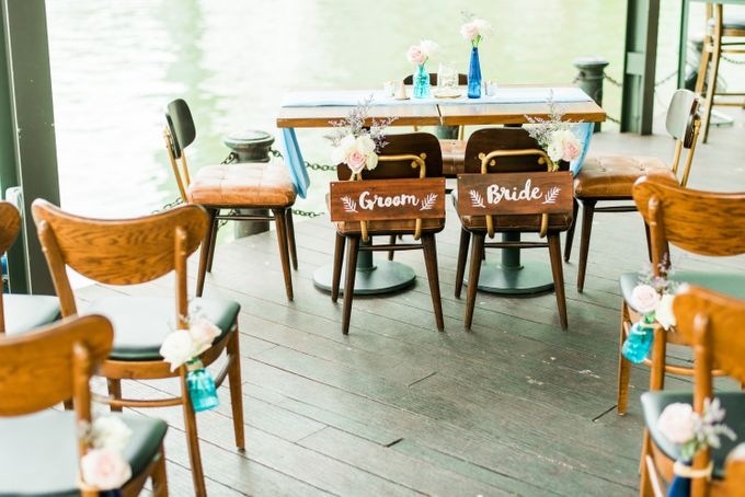 Whimsical Garden at Harrys Boat Quay by Harry's  - 001