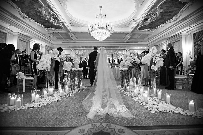 Real Wedding of Victor & Vivien by Luxe Paris Events - 028