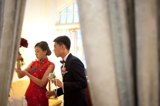 A Wedding at Raffles Hotel by Feelm Fine Art Wedding Photography - 007