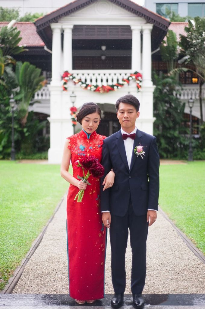 A Wedding at Raffles Hotel by Feelm Fine Art Wedding Photography - 020