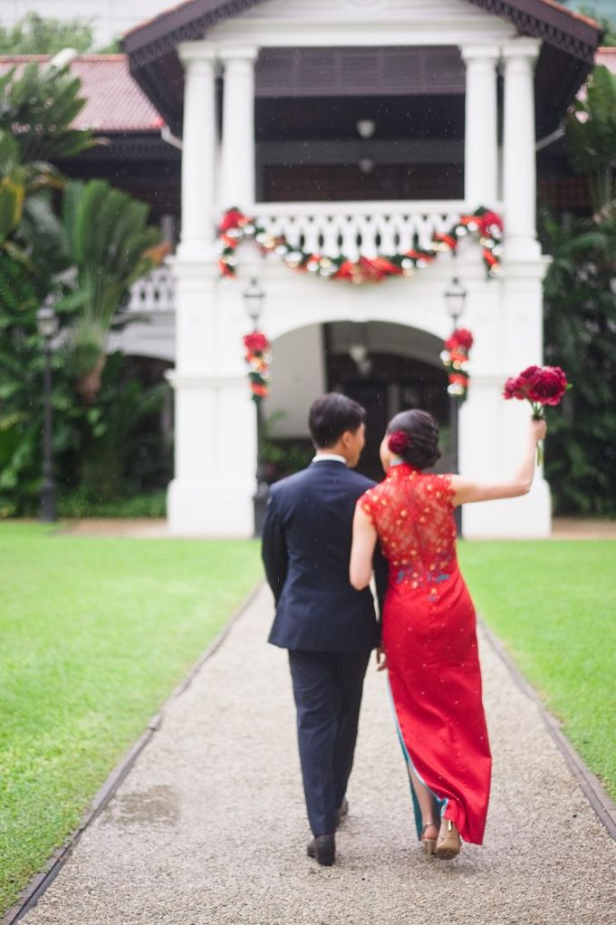 A Wedding at Raffles Hotel by Feelm Fine Art Wedding Photography - 024