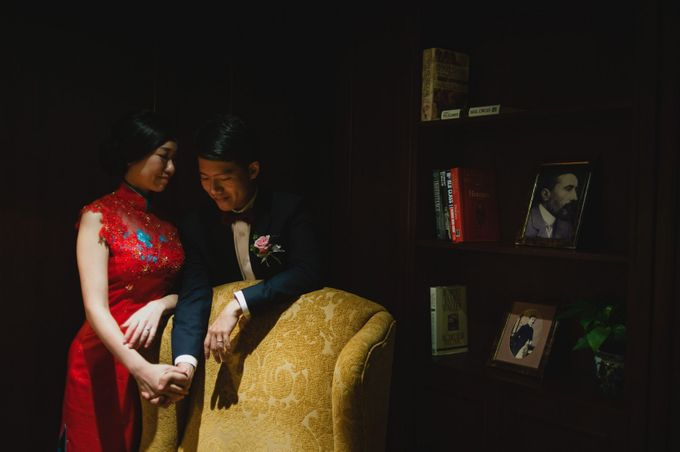 A Wedding at Raffles Hotel by Feelm Fine Art Wedding Photography - 029