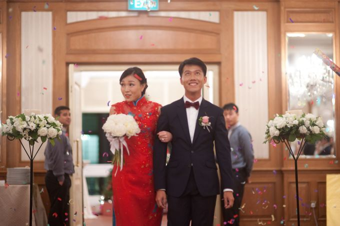 A Wedding at Raffles Hotel by Feelm Fine Art Wedding Photography - 036