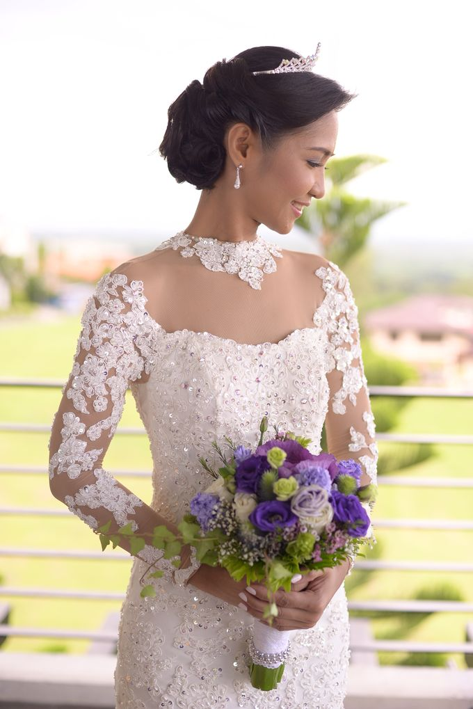 Beautiful Bride Meah by Delby Bragais Bridal - 007