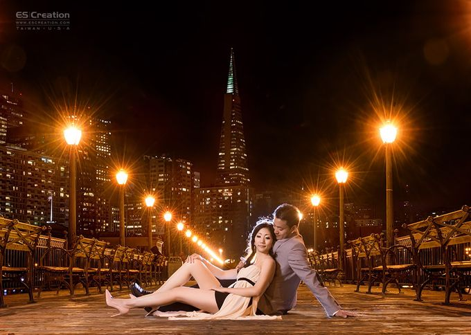 Pre wedding in San francisco by ES Creation Photography - 013