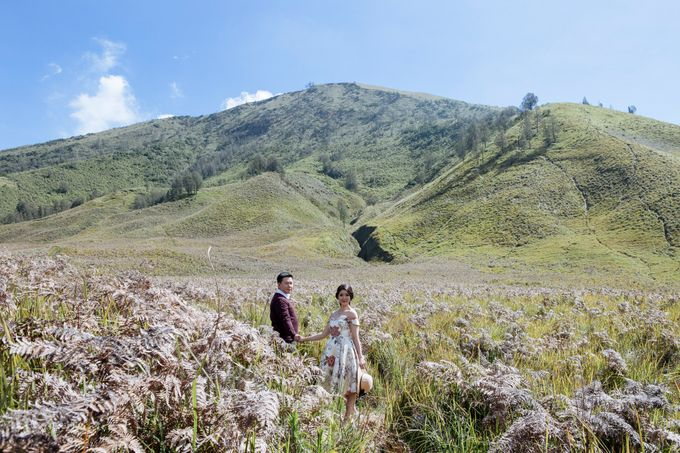 The Prewedding of Edward and Tressy - Bromo by Lighthouse Photography - 006