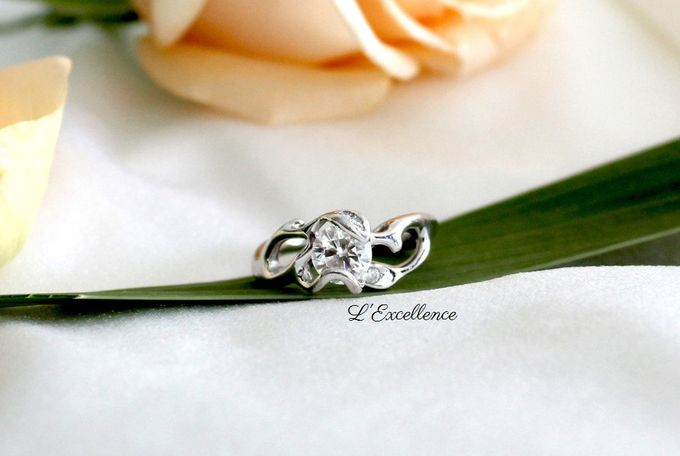 Engagement & Wedding Anniversary Rings by L'Excellence Diamond - 003