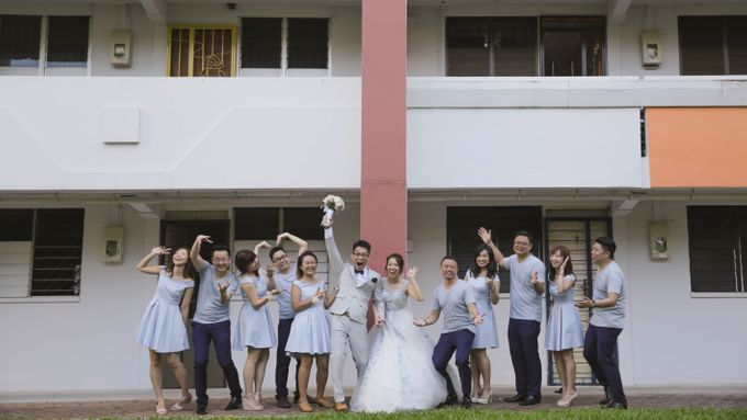 Alphonsus & Claire // aerial filming // holy matrimony // wedding dinner // same day edit express highlight by Teck Kuan // 2017 by The Next Chapter Film - 001