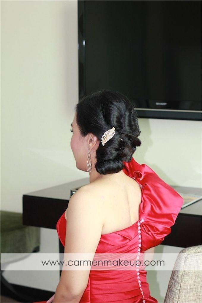 Brides Actual Day by Carmen Makeup & Hair - 009