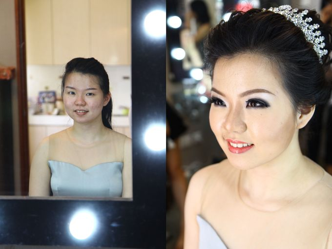 Makeup and Hairdo by Lee Cinthya Makeup Artist - 001
