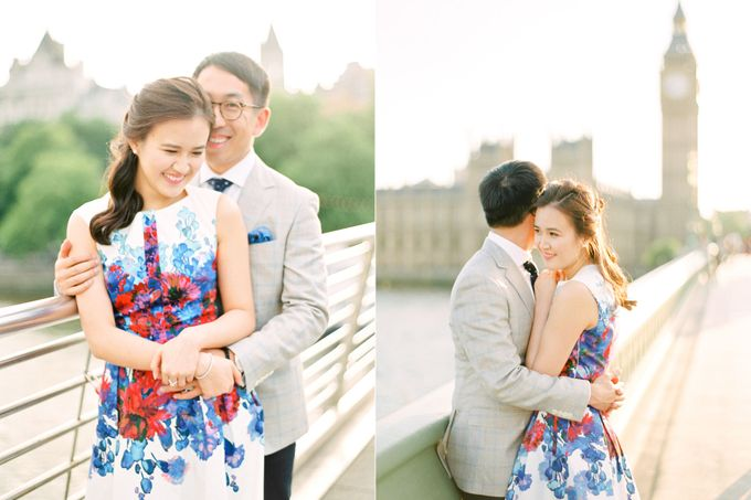 Pre-wedding photos in London by Caught the Light - 002