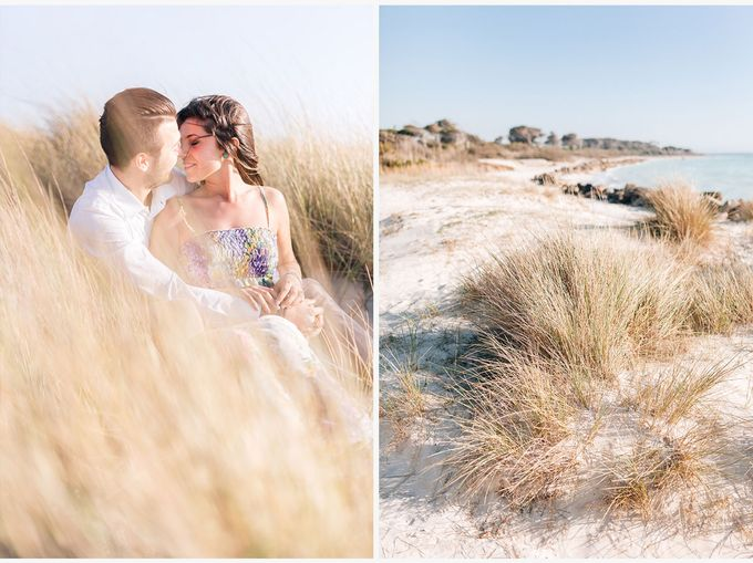 Engagement by the beach in Tuscany by PURE wedding photography - 012