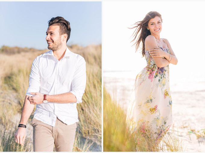 Engagement by the beach in Tuscany by PURE wedding photography - 014