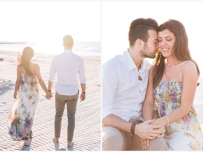 Engagement by the beach in Tuscany by PURE wedding photography - 016