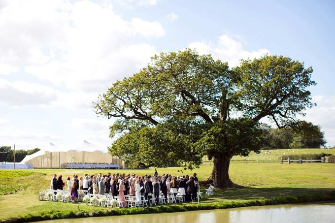 An outdoor English humanist wedding by Caught the Light - 002