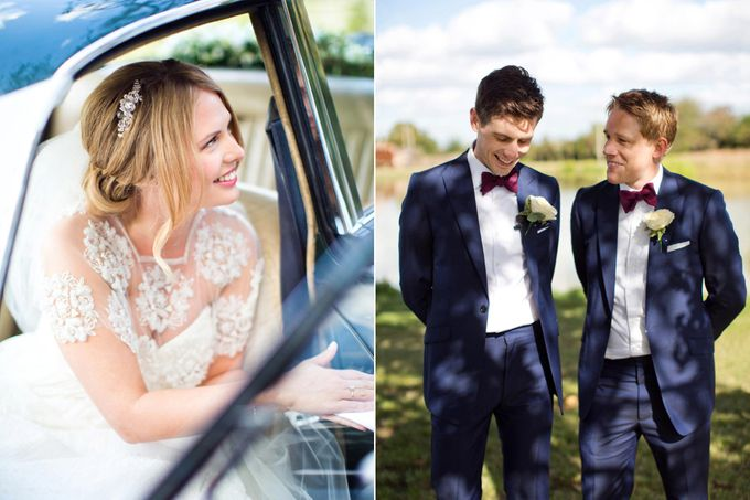 An outdoor English humanist wedding by Caught the Light - 003
