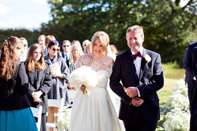 An outdoor English humanist wedding by Caught the Light - 004