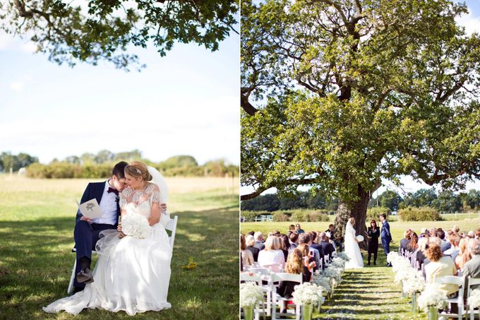 An outdoor English humanist wedding by Caught the Light - 006